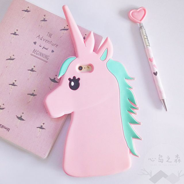 Skinny Dip Style Inspired 3D Magical Unicorn Silicon Mobile Phone Cover  Apple iPhone 5 5S SE 128a98201c