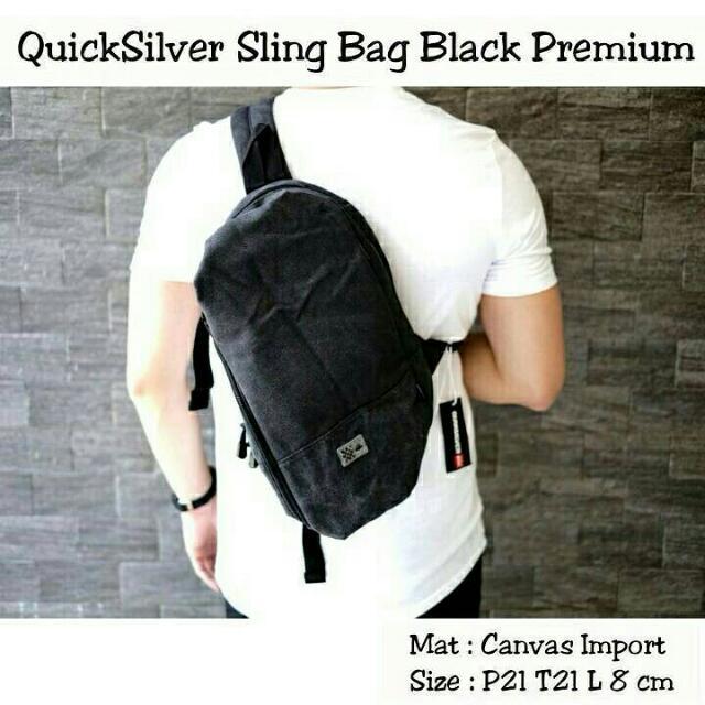 Sling Bag Black Premium