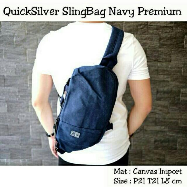 Sling Bag Navy Premium