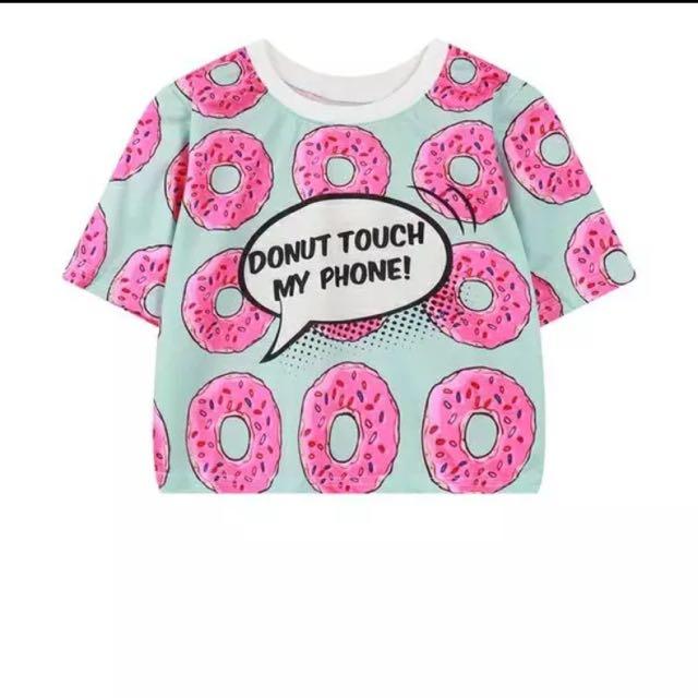 甜甜圈🍩夏日短版t