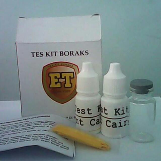 Test Kit Boraks (TBQ 01-A)