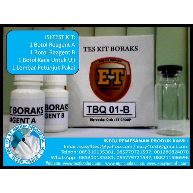 TEST KIT BORAKS (TBQ 01-B)
