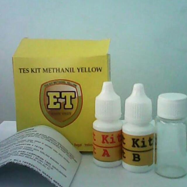 Test Kit Methanil Yellow (TMQ 01-A)