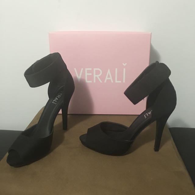Verali Black High Heels
