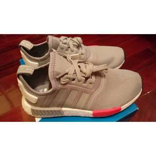 Adidas NMD Runner J  灰色 Mesh 慢跑鞋  US7號 現貨在台