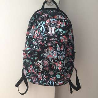 Hurley Backpack (never Used)
