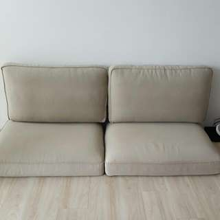 ikea kivik 3 seater cushions & covers without frame