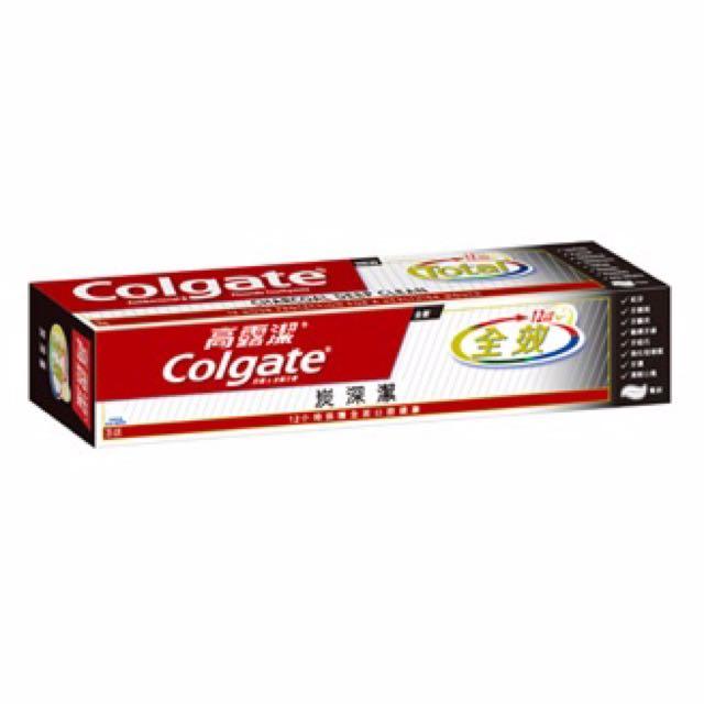 ✨ 現貨 ✨ 買10送一   💟  高露潔 全效炭深潔牙膏150g