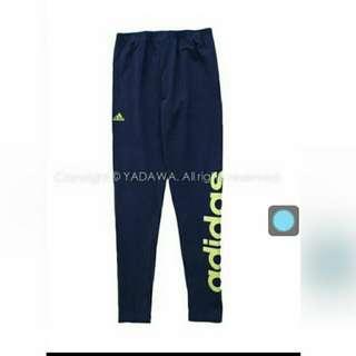 Adidas愛迪達 內搭褲 L