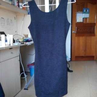 大降價💥性感露背顯瘦腰身夜店黑色洋裝