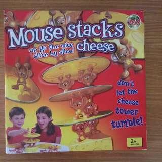 老鼠起士疊疊樂 桌遊