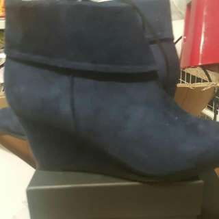 Blue Wedges Brand New Size 37