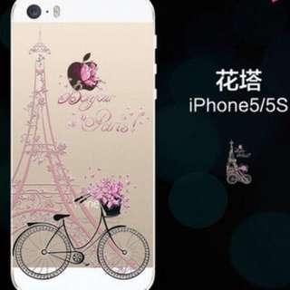 現貨~I Phone5/5s/SE 透明手機軟殼