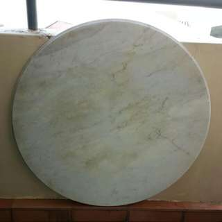 Vintage White Heavy Marble Table Top