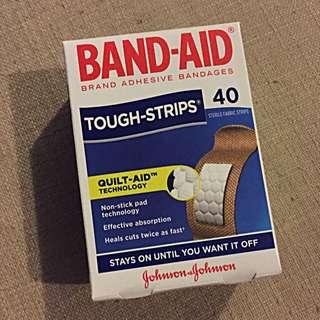 🔆Band Aid Tough Strips 40, New4