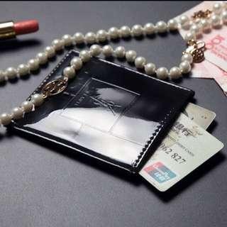 全新❤️YSL 專櫃滿額禮 卡片套 悠遊卡、信用卡 證件可裝