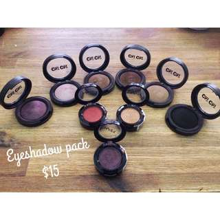 Chi Chi And Nyx Eyeshadows (Sold Pending)