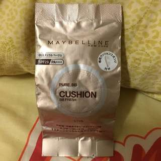 Maybelline媚比琳 純淨礦物 水凝BB氣墊粉餅 替換粉蕊