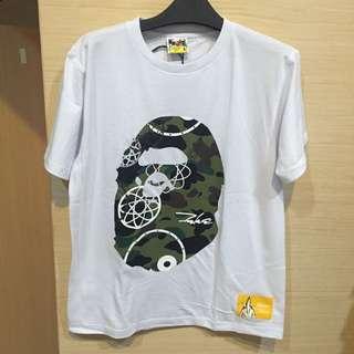 Bape 猿人頭 T-shirt