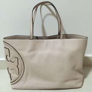 Tory Burch Pink Leather Tote Bag (100% Authentic)