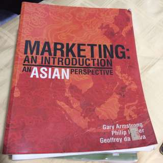 Marketing An Introduction Asian Perspective