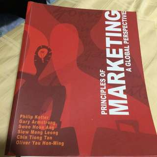 Principles Of Marketing A Global Perspective