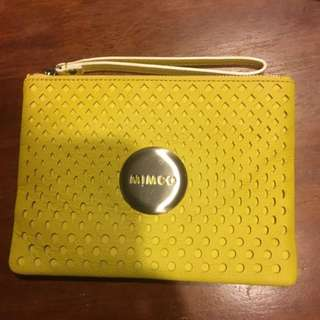 Yellow MIMCO Purse