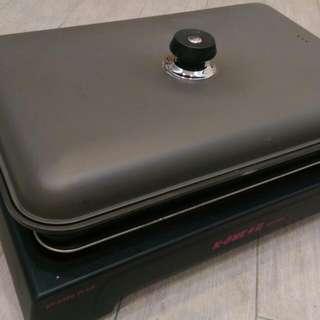 露營烤肉 瓦斯爐 壽喜燒 煮湯 烤牛排 都很好用 大潤發售4990