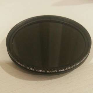 52mm Variable ND Filter.