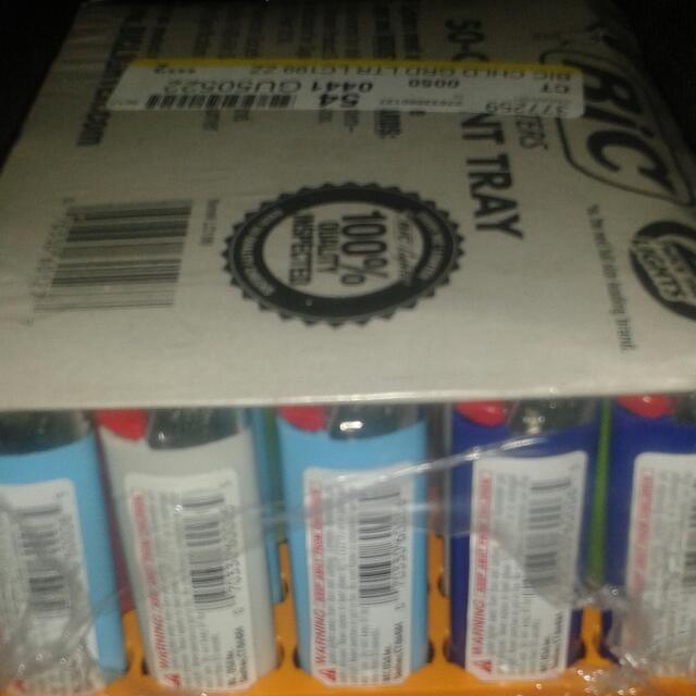 50 Bic Lighters $50
