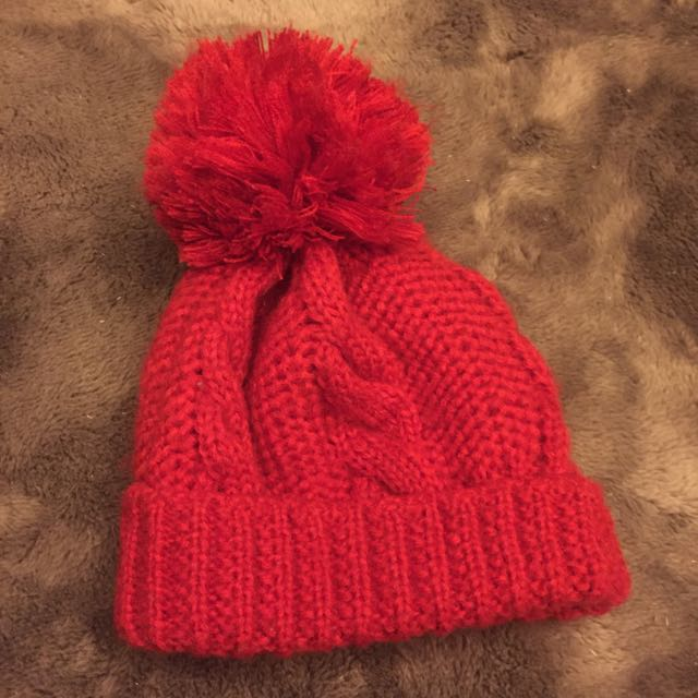 紅色球球毛毛