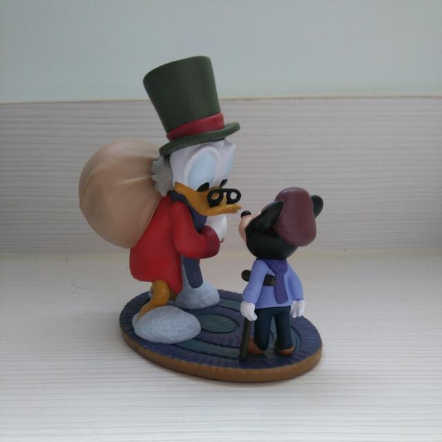 聖誕老糖老鴨和小米奇公仔