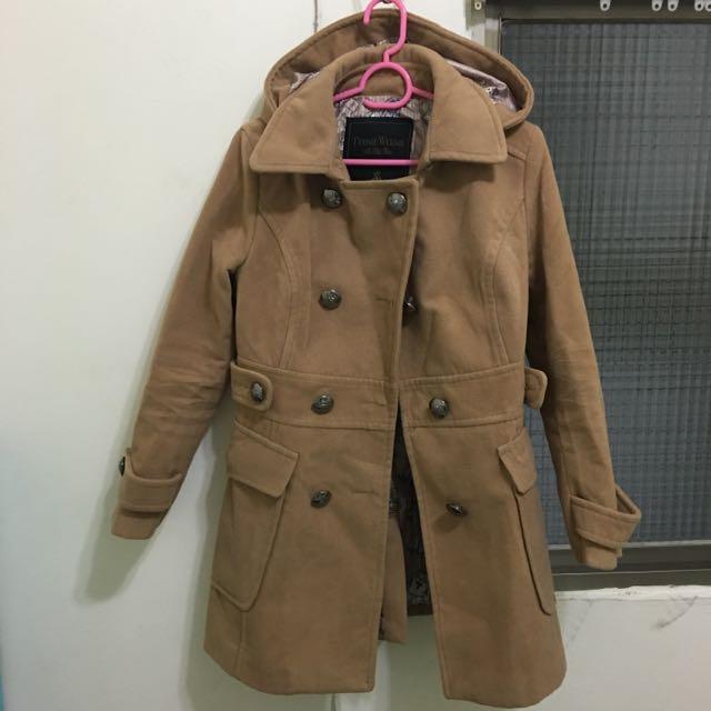 全新小熊大衣外套