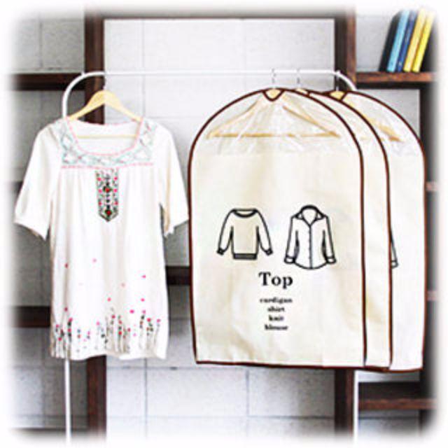韓國熱銷不織布衣物防塵罩(上衣.冬裝.下著.西裝.童裝.洋裝)(現貨)