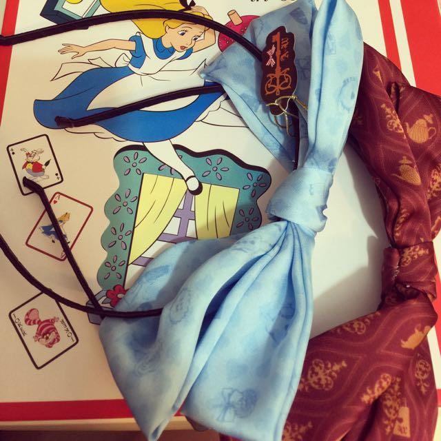 水曜日のアリス愛麗絲蝴蝶結頭飾