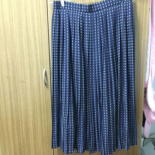 復古百摺裙