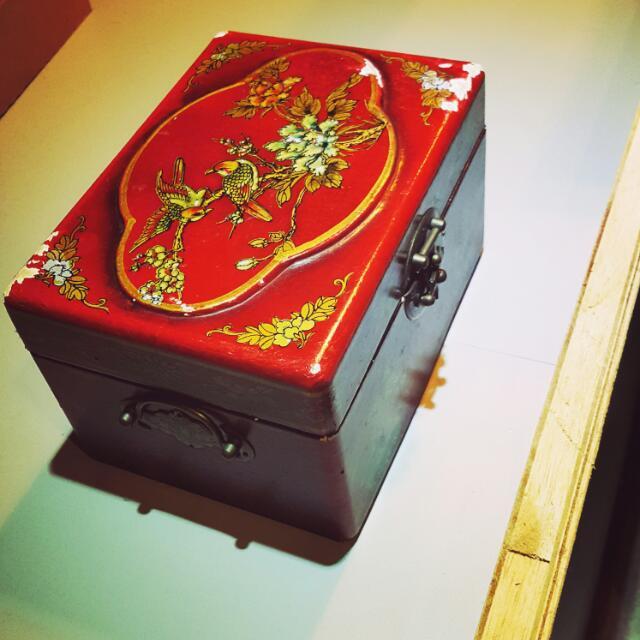 古早珠寶盒