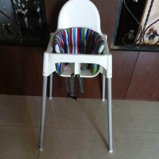 二手餐椅 7成新含靠背墊