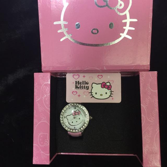 正版 Hello Kitty 手錶 全新未使用過