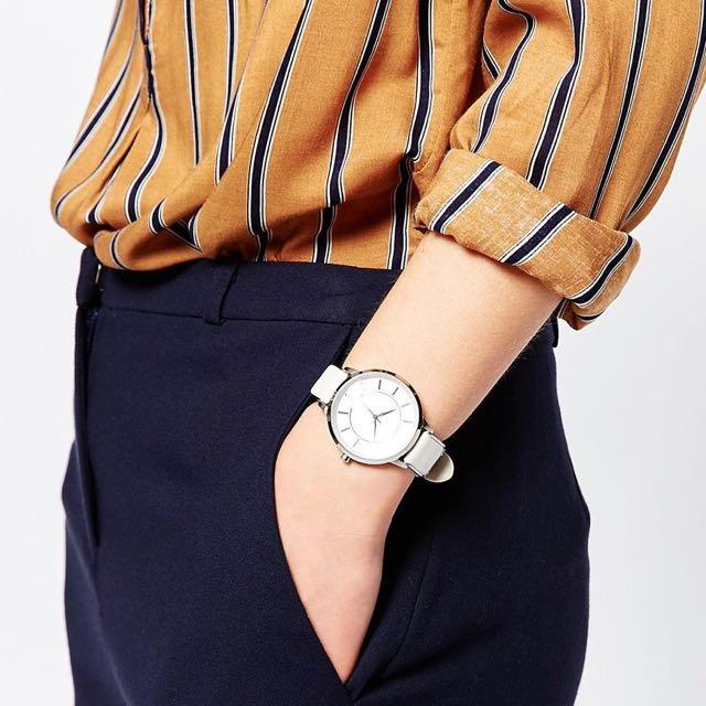 A/X Armani Exchange Olivia Watch 手錶白色表