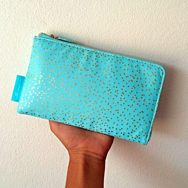Baby Blue Make Up Or Pencil Case 💕