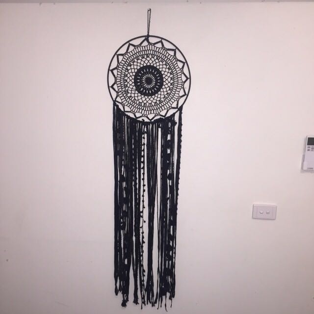 Black Dreamcatcher