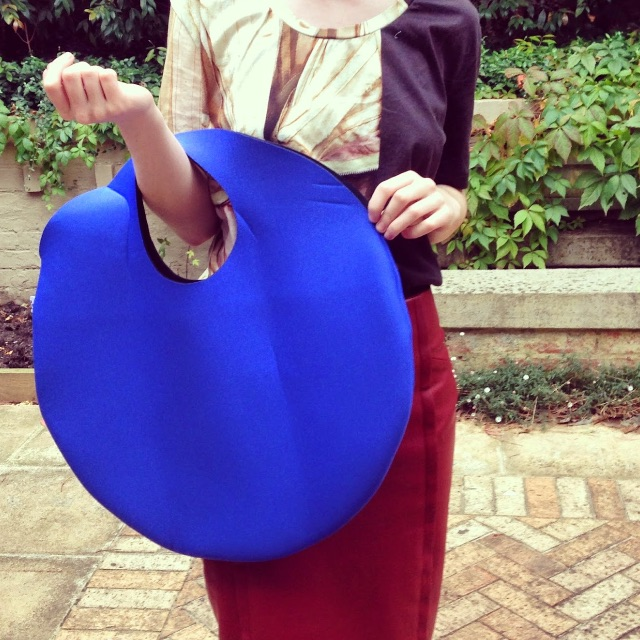 Blue Circle Tote by Witu