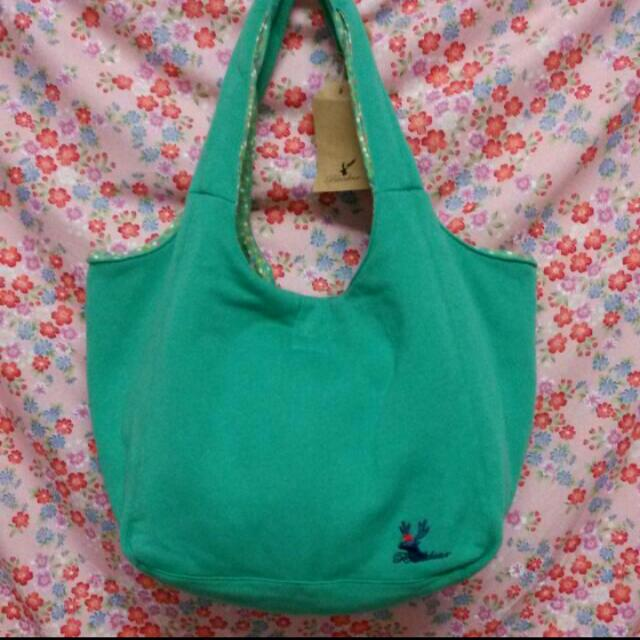 Bluedeer手提肩背包(綠色) 全新