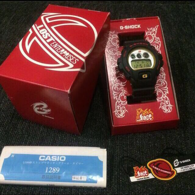 239d35001 Brand New G-Shock DW6900 x Lost Enterprises Collaboration, Luxury on  Carousell