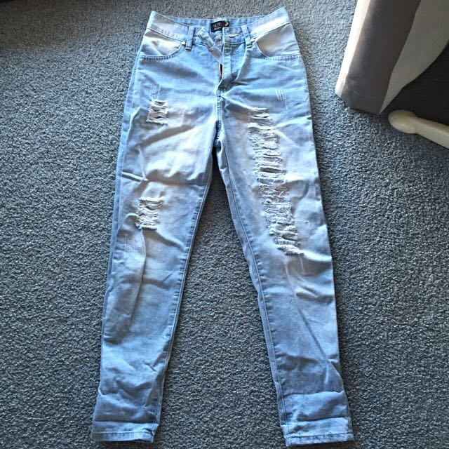 BRAND NEW Ripped Boyfriend Jeans