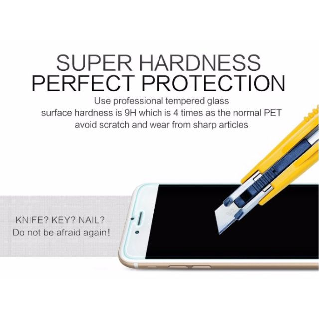 NEW STOCK READY - Tempered Glass 0.3mm Premium Tempered Glass for iPhone 6/6s 9H Hard 2.5D Arc Edge High Transparent Screen Protector with Clean Tools
