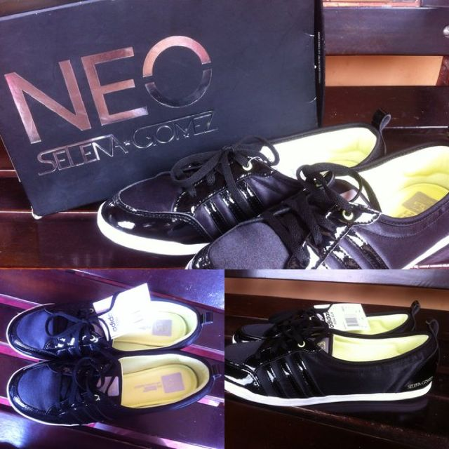 save off new concept free shipping BRAND NEW WITH BOX** Adidas Neo Selena Gomez Piona Sg Black ...