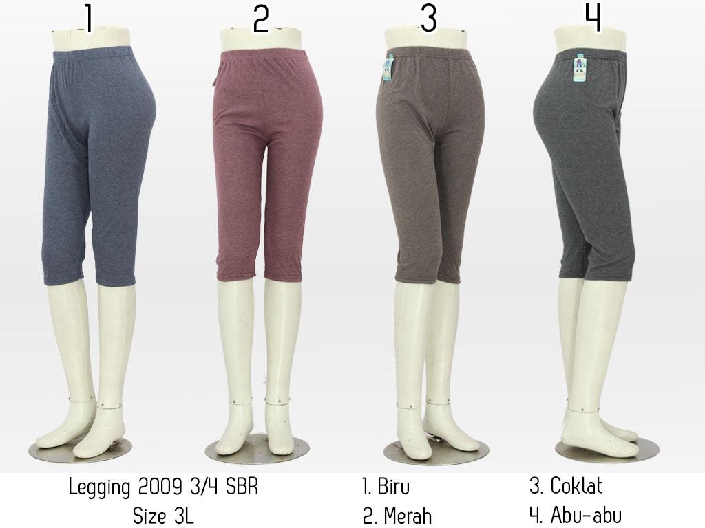 Celana Legging Wanita 3 4 Celana Grosir Fesyen Pria Pakaian Bawahan Di Carousell
