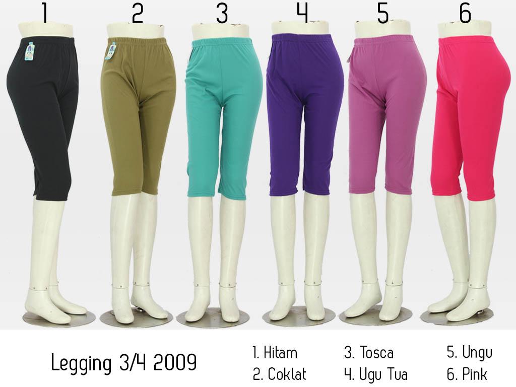 Celana Legging Wanita Celana 3 4 Celana Grosir Fesyen Pria Pakaian Bawahan Di Carousell